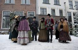 grupa wiekowa wiktoriański ludzie Zdjęcie Stock