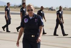 Grupo à terra dos Thunderbirds da força aérea Imagem de Stock Royalty Free