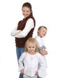Grupo #3 de los niños Fotos de archivo