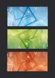 Grupo abstrato do molde ilustração stock