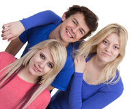 Grupo adolescente Fotografia de Stock