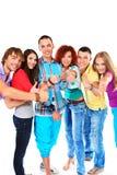 Grupo alegre Imagem de Stock