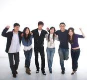 Grupo asiático joven Fotografía de archivo