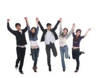 Grupo asiático novo Imagem de Stock Royalty Free
