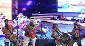 Grupo brasileiro de Tambolele Fotografia de Stock Royalty Free