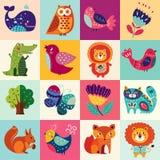 Grupo colorido Foto de Stock Royalty Free