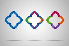 Grupo colorido com elementos criativos. Foto de Stock