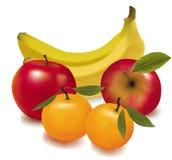 Grupo colorido de fruta fresca. Fotografía de archivo