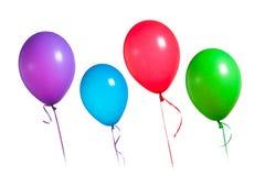 Grupo colorido de los globos Foto de archivo