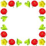 Grupo colorido floral do fundo do teste padrão Imagens de Stock Royalty Free