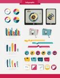 Grupo colorido infographic. Fotografia de Stock