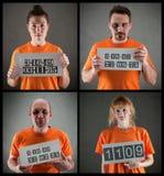 Grupo criminoso Imagem de Stock