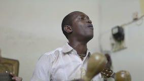 Grupo cubano asombroso de la música almacen de video