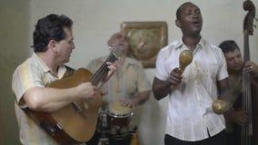 Grupo cubano asombroso de la música metrajes