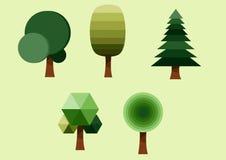 Grupo da árvore Fotografia de Stock