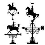 Grupo da aleta de tempo dos cavaleiros ilustração royalty free