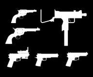 Grupo da arma Fotografia de Stock