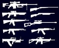Grupo da arma Fotografia de Stock Royalty Free