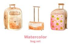 Grupo da bagagem Imagem de Stock