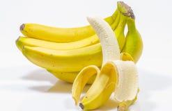 Grupo da banana Fotos de Stock Royalty Free