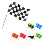 Grupo da bandeira do vetor Fotografia de Stock
