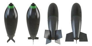 grupo da bomba 3d Foto de Stock