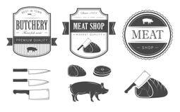 Grupo da carne ilustração royalty free