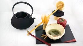 Grupo da cerimônia de chá Imagens de Stock Royalty Free