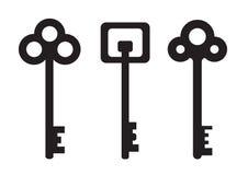 Grupo da chave Imagem de Stock