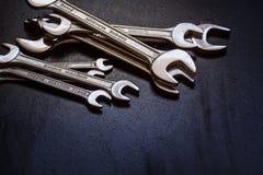 Grupo da chave de aço inoxidável Imagens de Stock Royalty Free