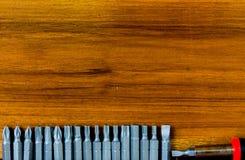 Grupo da chave de fenda Foto de Stock