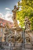 Grupo da crucificação em Bamberga Foto de Stock