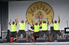 Grupo da dança Foto de Stock