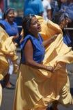 Grupo da dança de Afrodescendiente - Arica, o Chile Imagem de Stock Royalty Free