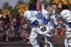 Grupo da dança de Caporales - Arica, o Chile Fotos de Stock