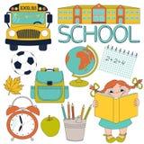 Grupo da escola Imagem de Stock Royalty Free