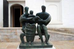 Grupo da família por Henry Moore Fotografia de Stock