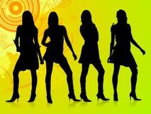 Grupo da forma Foto de Stock