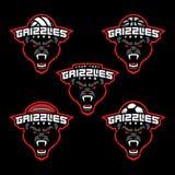 Grupo da mascote do esporte Imagens de Stock Royalty Free