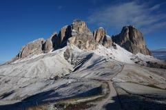Grupo da montanha da dolomite em Tirol sul Imagens de Stock