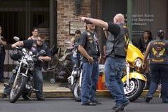 Grupo da motocicleta Fotografia de Stock Royalty Free