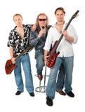 Grupo da música Imagem de Stock Royalty Free