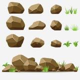 Grupo da pedra da rocha Fotos de Stock