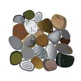 Grupo da rocha Foto de Stock