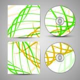 Grupo da tampa do CD do vetor para seu projeto Imagem de Stock Royalty Free