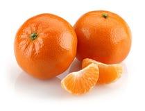 Grupo da tangerina fotografia de stock
