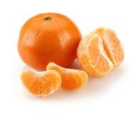 Grupo da tangerina foto de stock