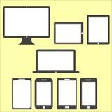 Grupo da tela da informática    Fotografia de Stock