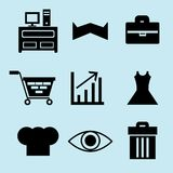 Grupo da Web Imagens de Stock