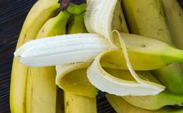 Grupo das bananas fotos de stock